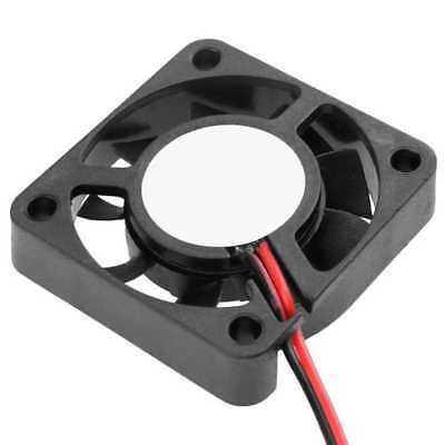 Ventilador 40x40X10 mm Cooling Fan 0,14A 12V 2Pin Cables Reprap Arduino Negro