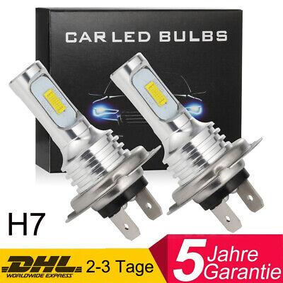 2x H7 100W 2600LM LED Nebel Scheinwerfer Birnen Abblendlicht Licht Tagfahrlicht