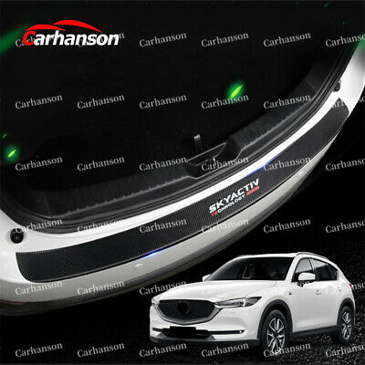 Car Parts - Auto Parts For Mazda Cx5 Accessories Car Rear Guard Bumper Protector Cover Trim