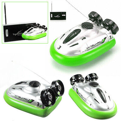 Mini Radio Remote Control Hovercraft Hover RC On Water Boat / 8x5x4cm / GR