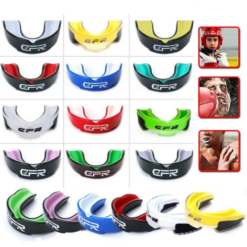 Sport Mouth Guard Gel Football Basketball Boxing MMA Martial