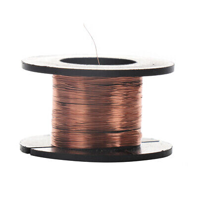 0.1mm Copper Soldering Solder Ppa Enamelled Reel Wire Roll Cell Phone Repair New