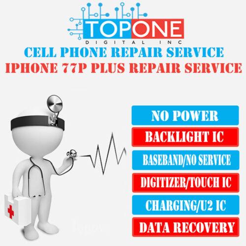 Iphone 7 7+ No Service(baseband)repair Service Turn Around Time 2-4business Days