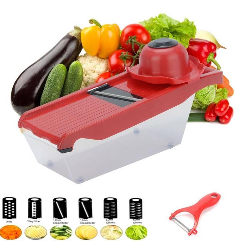 Slicer Manual Vegetable Cutter Chopper Fruit Mandoline Kitch