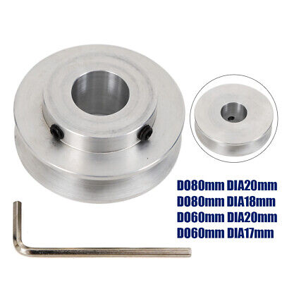 New Od 40-80mm V-groove Step Pulley Aluminum Alloy Belt Pulley Wrench Usa