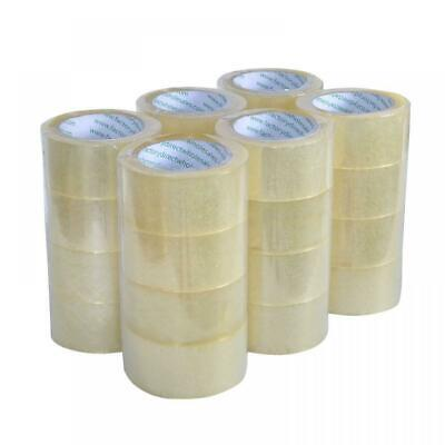 48 Rolls Heavy-duty Packing Tape Strong Clear Carton Box Move Shipping Sealing