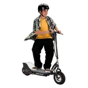 Electric Rechargeable 24 Volt Motorized Ride On Kids Scooter, Black - BRAND NEW  FREE SHIPPING