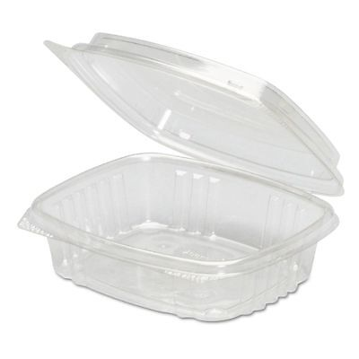 Genpak Clear Clamshell 8 oz Deli Containers - GNPAD08F