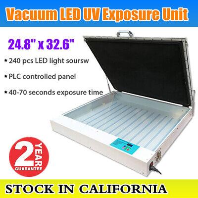 24.8x32.6 Tabletop Precise Vacuum Led Uv Exposure Unit For Screen Printing