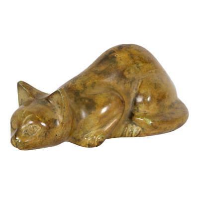 Perfect Memorials Sandy Cat Cremation Urn