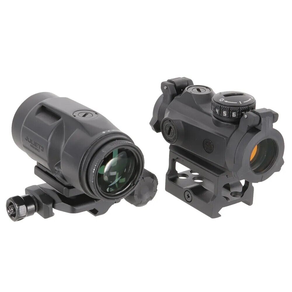 Sig Sauer Romeo MSR Combo 1x20mm Compact Red Dot & Micro Magnifier - SORJ72001