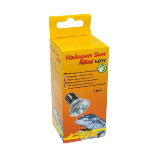 Lucky Reptile Halogen Sun Mini 2 x 50W Spotstrahler E27
