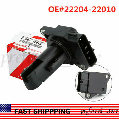 NEW 22204-22010 Mass Air Flow Meter MAF Sensor For Toyota Lexus Scion US