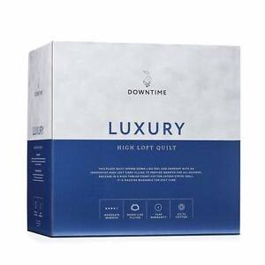 Brand New  in box Downtime Luxury High Loft Quilt Woollahra Eastern Suburbs Preview