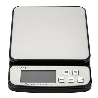 110 Lb X 0.1oz Digital Postal Shipping Scale Weight Postage Adapter 3x Battery