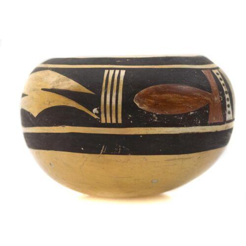 """C. 1930 Hopi Polychrome Jar By Nellie Nampeyo (1896-1978), 2.5""""x4.5"""""""