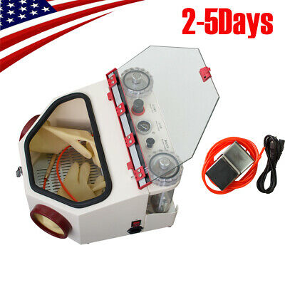 Dental Lab Equipment Twin Double Pen Fine Sandblaster Machine Usa Shipment