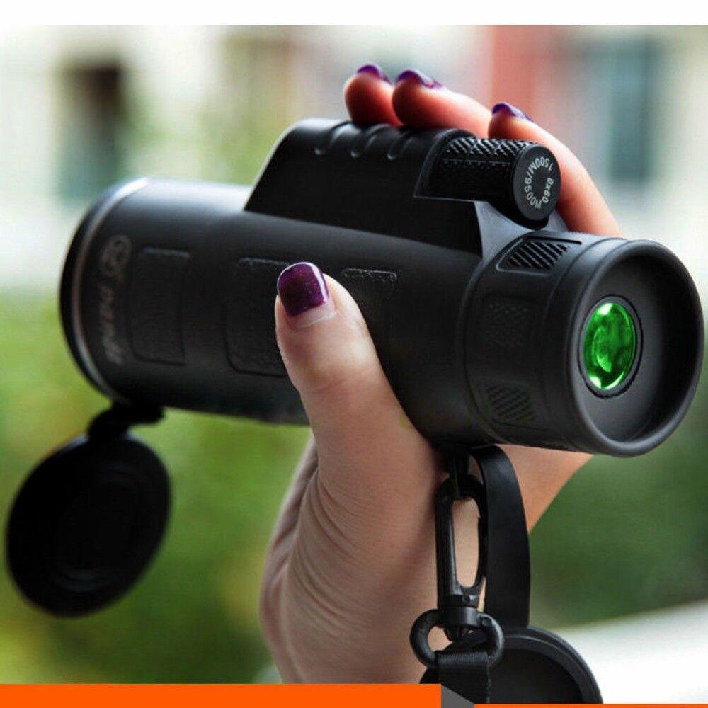 Night Vision 40X60 Signal Mini HD Monocular Cell Phone Camer
