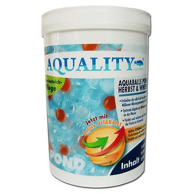 AQUALITY AQUABALLS POND H&W Filterbakterien 1000 ml für den Gartenteich