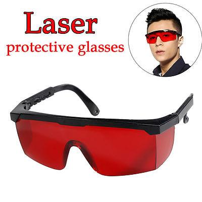 Red Alternative Laser Eye Protection Safety Glasses Goggles For Various Uv Laser