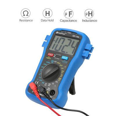Backlight Lcd Digital Lcr Multimeter Resistance Inductance Transistor Hfe Tester
