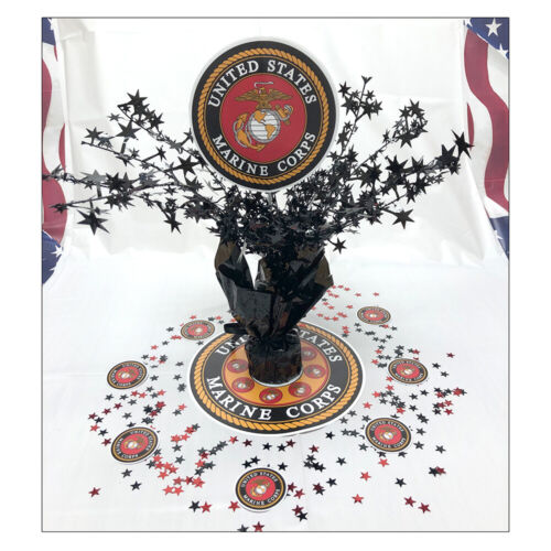 US Marines Party Supplies MARINE CORPS CENTERPIECE DECORATING KIT