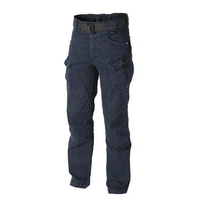HELIKON TEX URBAN TACTICAL PANTS UTP HOSE Denim Blue 4XLXL XXXXLarge X Long Blue Denim Bekleidung
