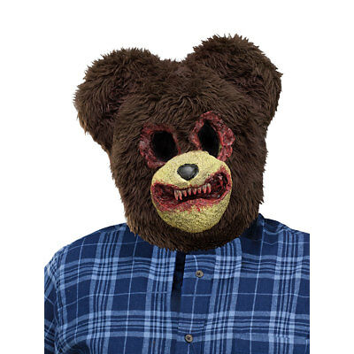 Scary Bear Animal Halloween Costume Mask](Scary Halloween Animations)