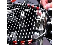 Badminton Racquet Stringing/Re-stringing - Put a TWANG in your game and punish those shuttlecocks.