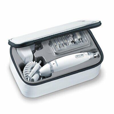 Beurer MP62 Set manicura pedicura profesional 10 accesorios incluidos blanco