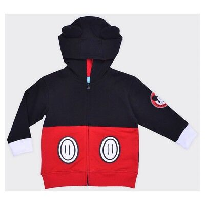 Toddler Boys Mickey Mouse Costume (Disney Toddler Boys' Mickey Mouse Costume Hoodie - Black)