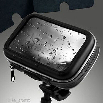Waterproof bicycles/motorcycle Case & Mounts for 5