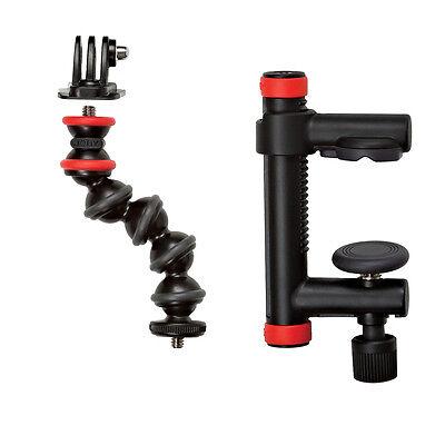 Joby Action Clamp & Gorillapod Arm Black/Red JB01280, London