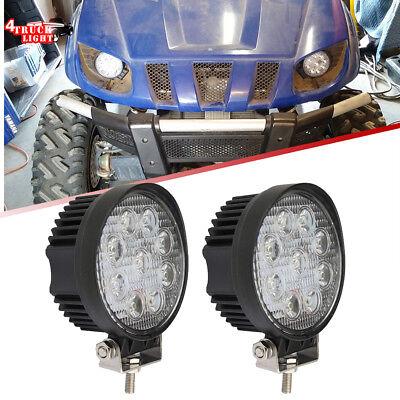 2x Tractor 4 27w Led Fog Light For Kubota Iseki Yanmar John Deere 650 750 850
