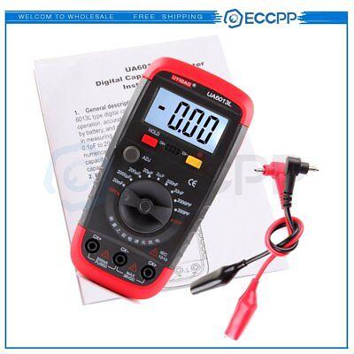 Capacitor Capacitance Digital Meter Test Tester 200pf20000f Ua6013l Ua6013l