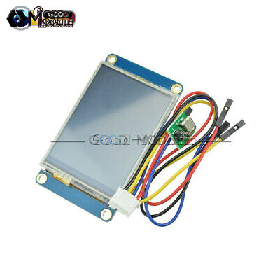 2.4 Nextion Hmi Tft Lcd Display Module For Arduino Raspberry Pi 2 A B New