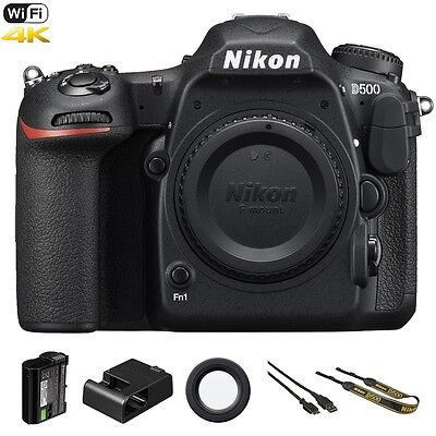 Nikon D500 / D 500 20.9 MP 4K WiFi DSLR Camera (Body Only)