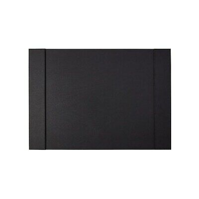Staples Refillable Faux Leather Desk Pad 24l X 17w Black 45058 2741550