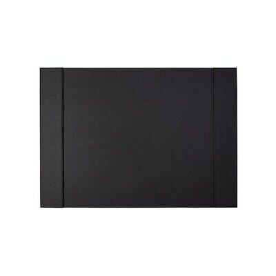 Staples Refillable Faux Leather Desk Pad 24l X 17w Black 45058 2741550