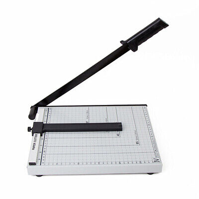 15 Sheets 12 Heavy Duty Paper Cutter A4 B5 A5 B6 B7 Guillotine Page Trimmer Usa