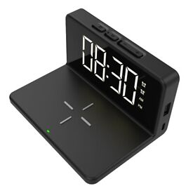 Equatech Digital Display Alarm Clock BRAND NEW