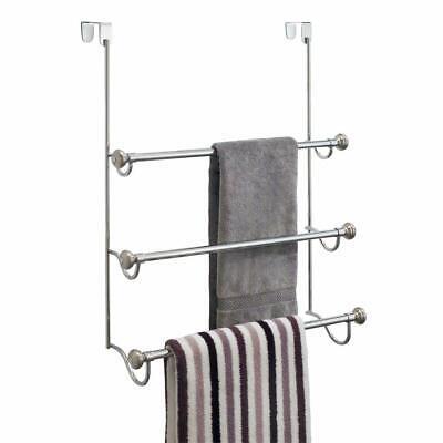 York Over-the-Shower Door Triple Towel Rack ()