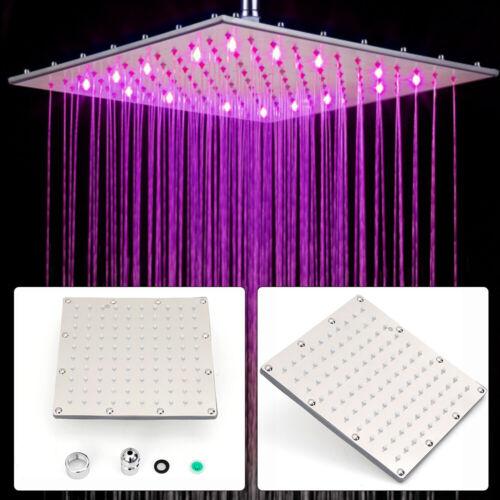 LED Regenbrause Duschbrause Duschkopf Regenduschkopf Kopfbrause Regendusche Neu