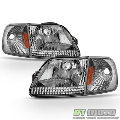 1997-2003 Ford F-150 F150 Expedition Headlights+Corner Lamps Signal Lamps 97-03