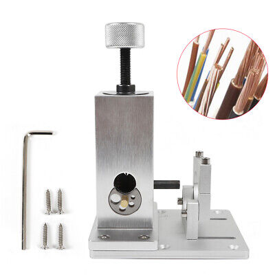 Copper Wire Stripper Electric Metal Stripping Machine Cable Scrap Tool Silver Us