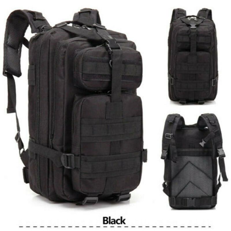 Chic Waterproof Outdoor Tactical Backpack Hiking Travel Rucksack Bag Durable