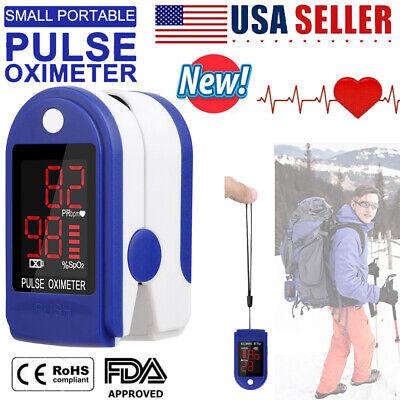 Fingertip Pulse Oximeter Heart Rate Blood Oxygen Spo2 Monitor Pr Saturation Fda