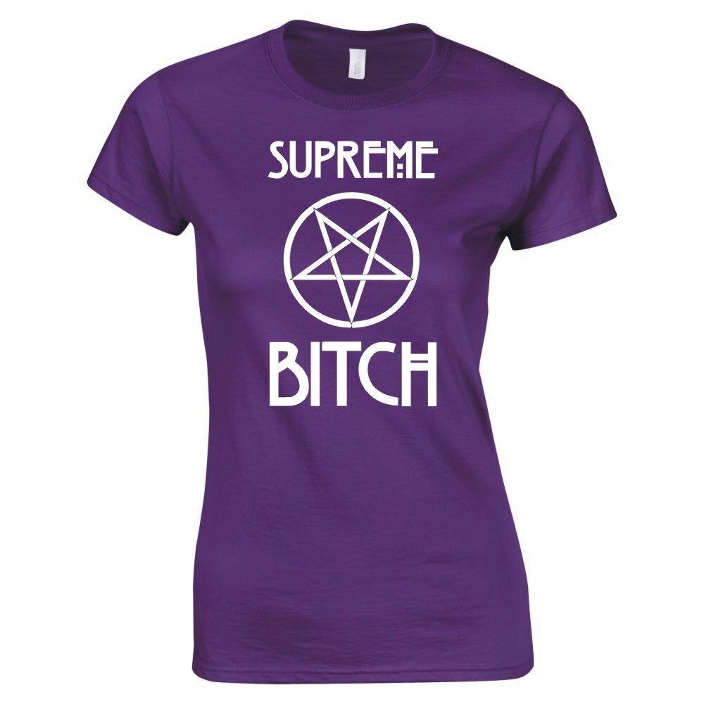 "Zoll Supreme Bitch Fünfzack "" Damen Skinny Fit T-Shirt"