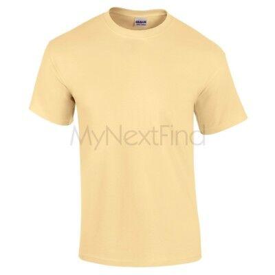 Gildan Mens Womens Ultra 100% Cotton Plain Blank Tee T-Shirt