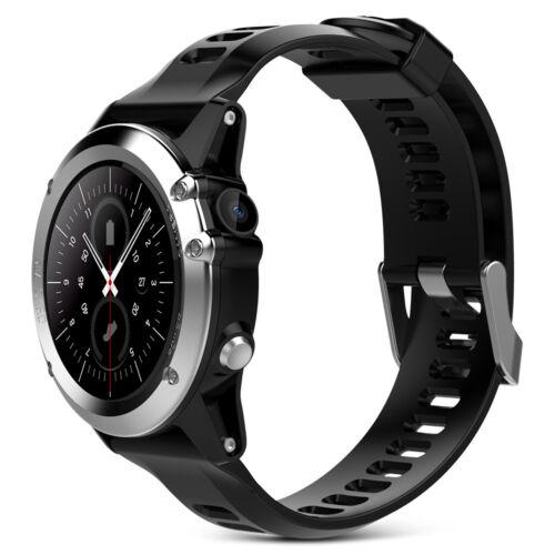 Microwear H1 3G SMARTWATCH TELEFONO 3.5cm Android Impermeabile Contapassi GPS